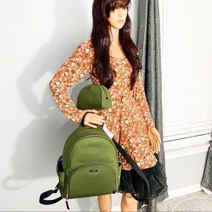 NWT Kate Spade Dawn Nylon Backpack & Cosmetic Bag
